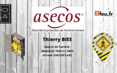 ASECOS FRANCE, les armoires de sécurité