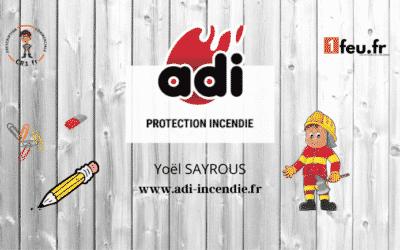 Groupe ADI, la protection incendie